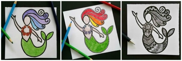 Learn to draw with Zentangles