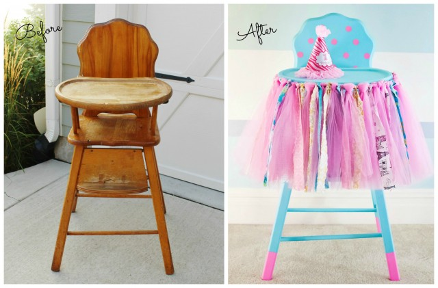 First Birthday Highchair