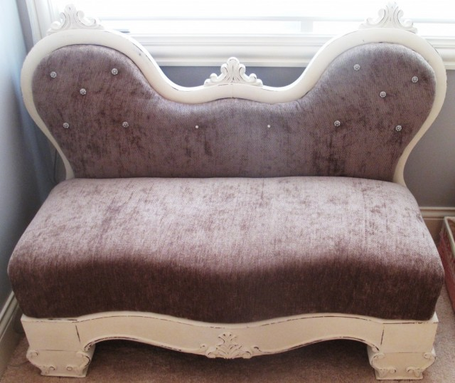 Upcycled Chaise Lounge