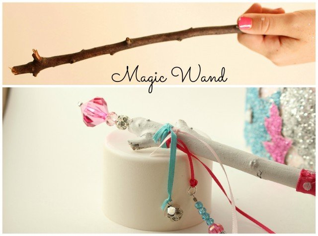 Leaf Crown and Magic Wand