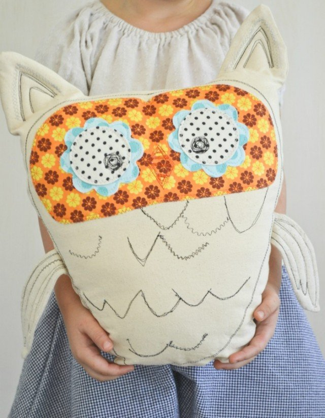 Fall Owl Stuffy
