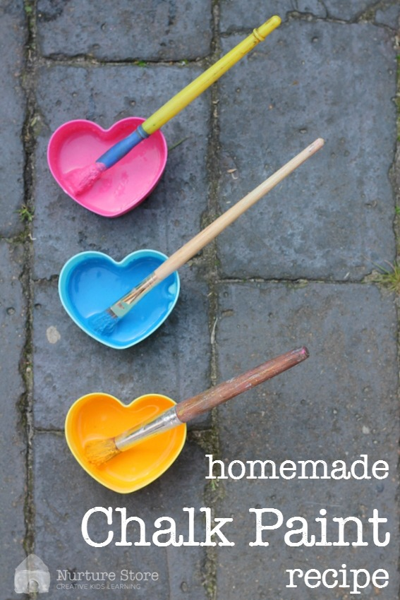 homemade chalk paint recipe.