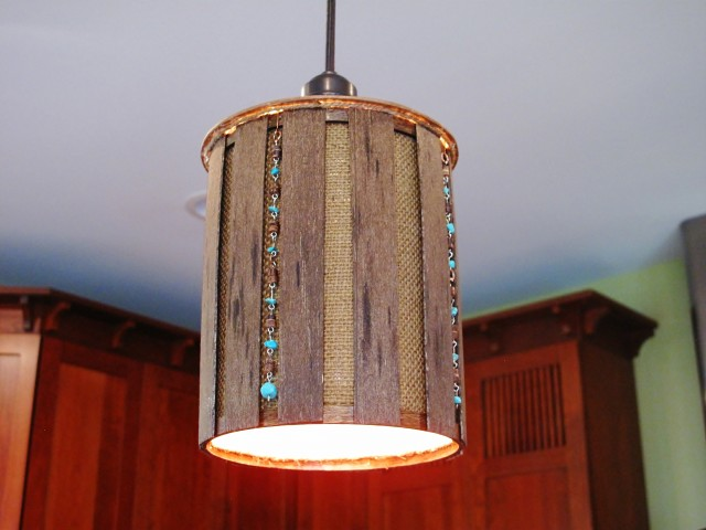 DIY Kitchen Pendant Light