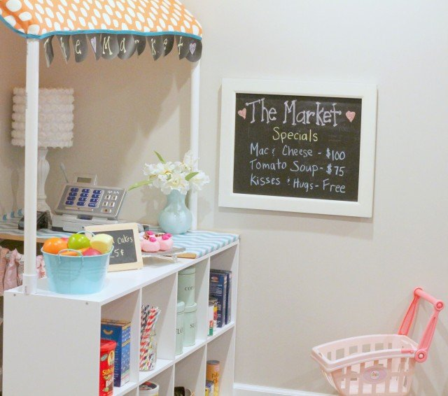 DIY Kids Grocery Market