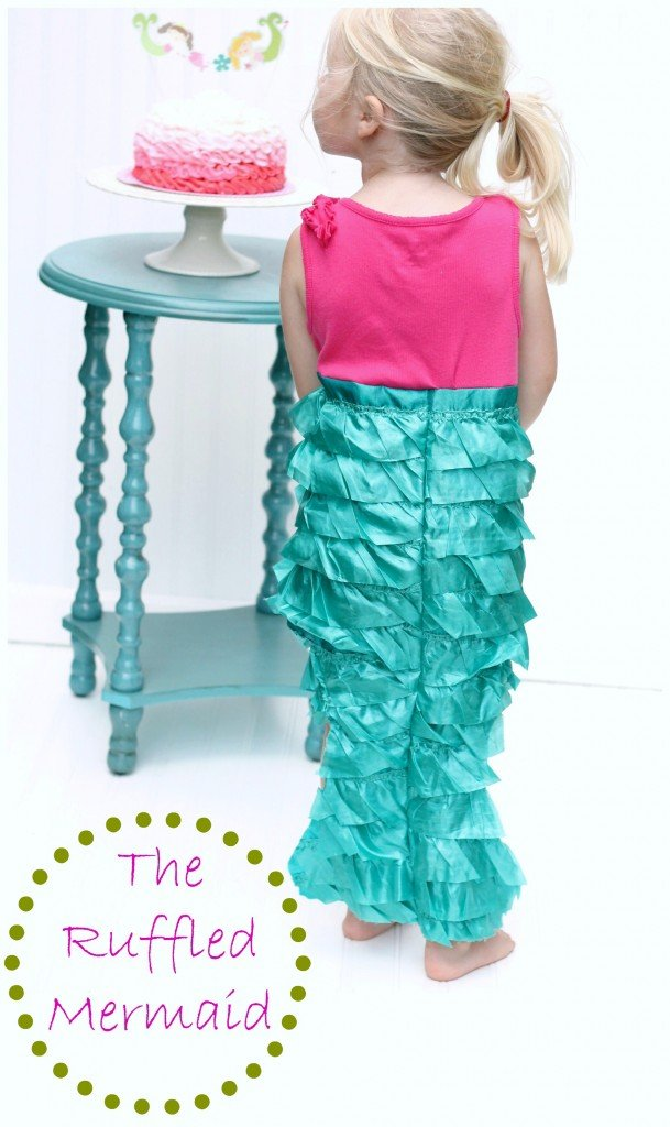 Ruffled Mermaid Costume