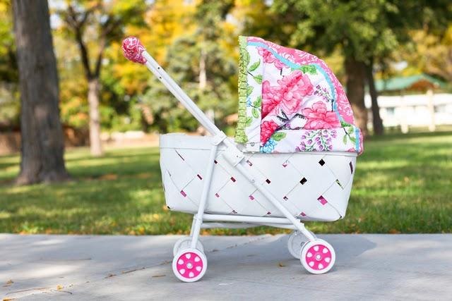 Как самому сделать детскую коляску