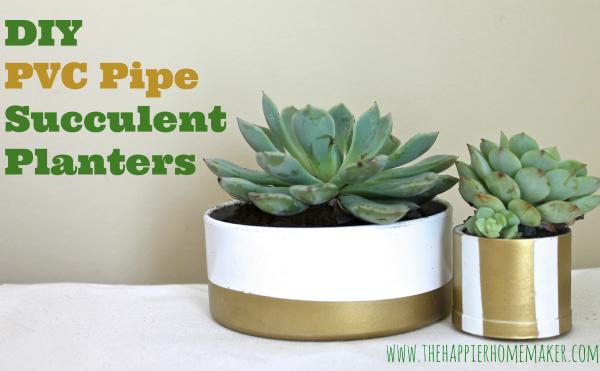 PVC Succulent Planters