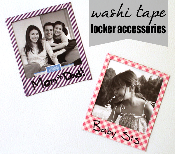 washi tape locker accesories